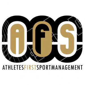 Athletes first sportmanagement Logo
